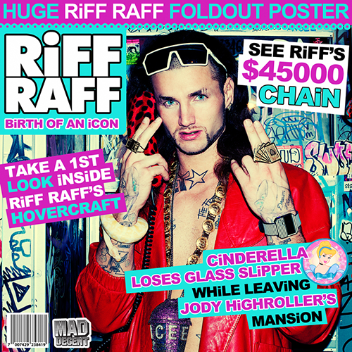 Birth Of An Icon - Riff Raff | MixtapeMonkey.com
