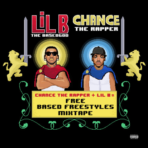 Free (BASED FREESTYLE MIXTAPE) - Lil B x Chance The Rapper | MixtapeMonkey.com