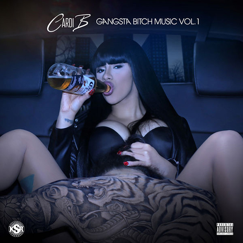 Gangsta Bitch Music Vol. 1 - Cardi B | MixtapeMonkey.com