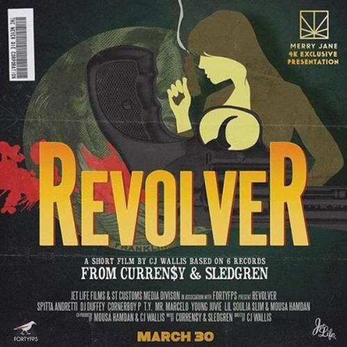 Revolver - Curren$y & Sledgren | MixtapeMonkey.com