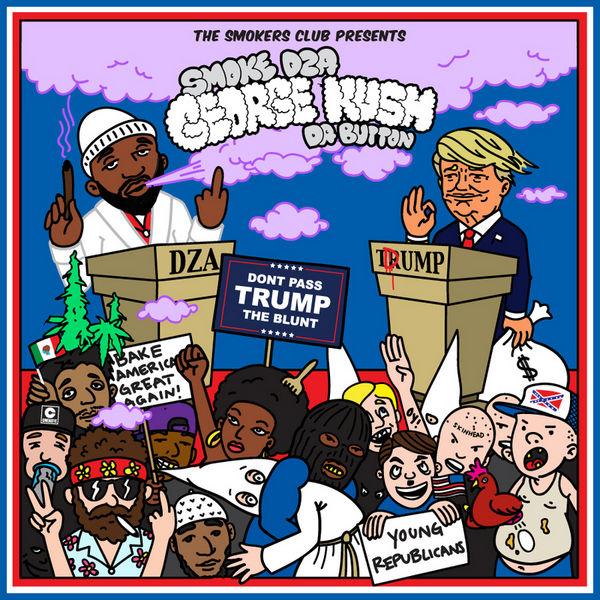 George Kush: Da Button - Smoke DZA | MixtapeMonkey.com