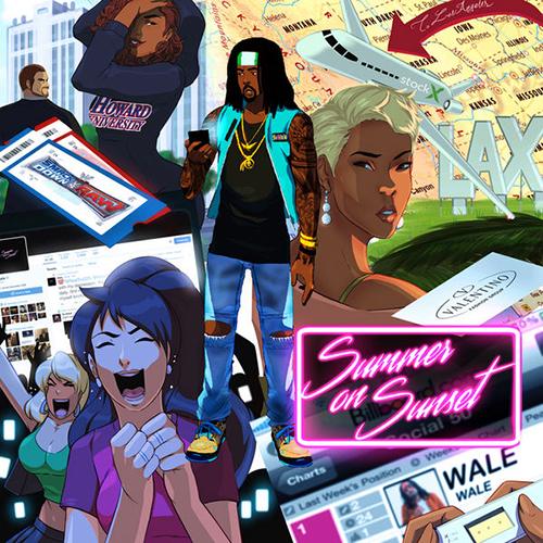 Summer on Sunset - Wale | MixtapeMonkey.com