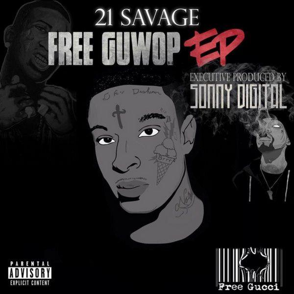 Cover 21 Savage - Free Guwop EP