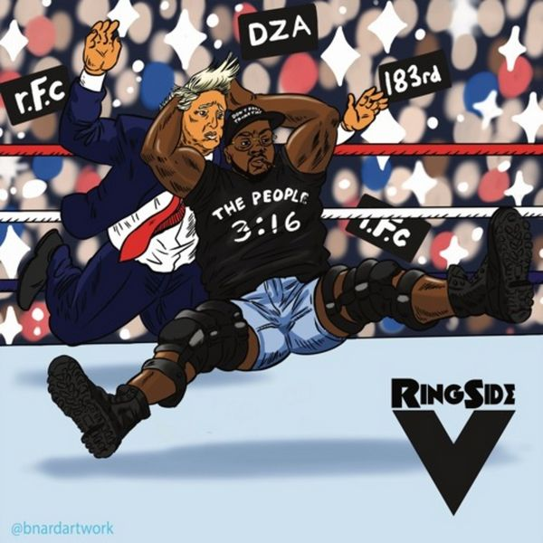 Ringside 5 - Smoke DZA | MixtapeMonkey.com