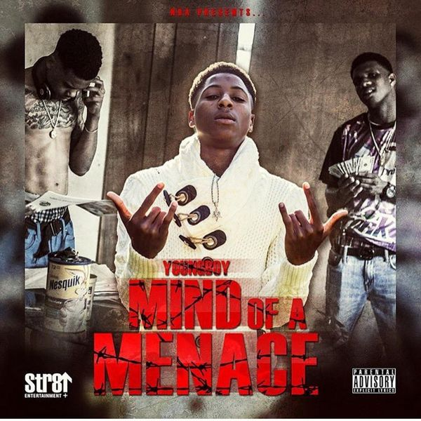 Mind Of A Menace - NBA Youngboy | MixtapeMonkey.com
