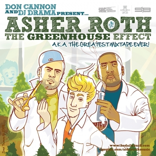 The Greenhouse Effect Vol. 1 - Asher Roth | MixtapeMonkey.com