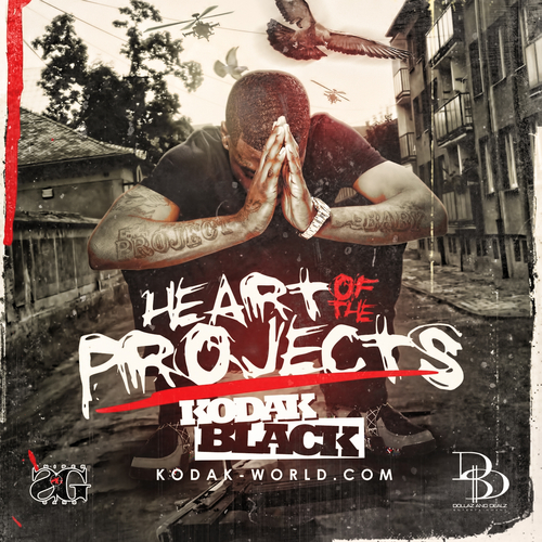 Heart Of The Project - Kodak Black | MixtapeMonkey.com