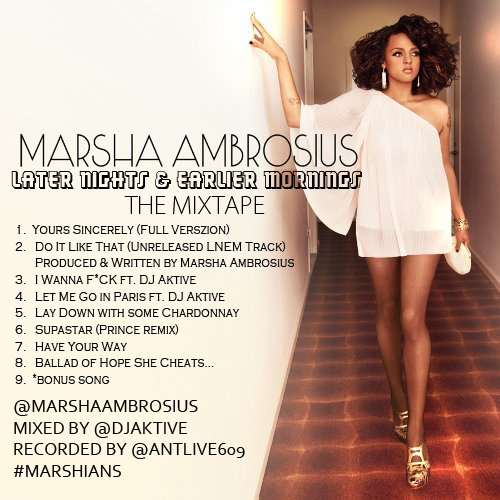 Late Nights & Earlier Mornings - Marsha Ambrosius | MixtapeMonkey.com