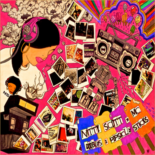 Doobies x Popsicle Sticks - Nitty Scott, MC | MixtapeMonkey.com