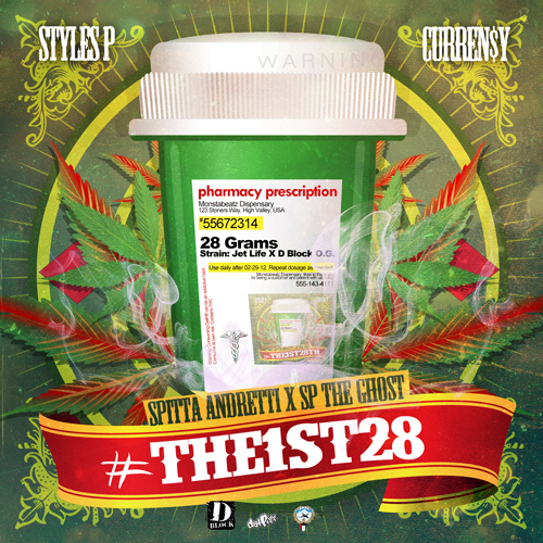 #The1st28 - Curren$y & Styles P | MixtapeMonkey.com