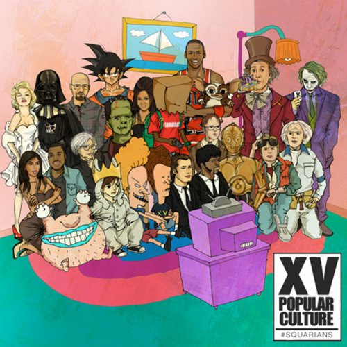 Popular Culture - XV | MixtapeMonkey.com