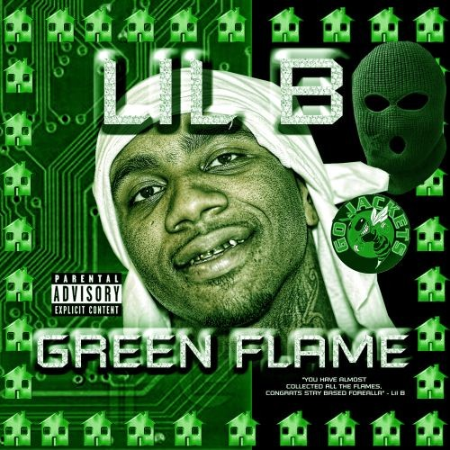 "Green Flame - Lil B ""The Based God"" 