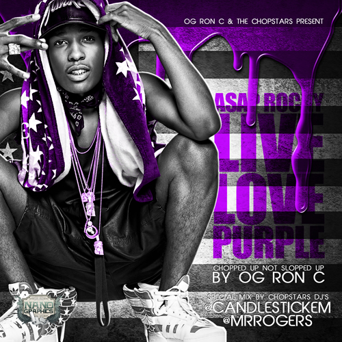 Live Love Purple - ASAP Rocky | MixtapeMonkey.com