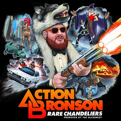 Rare Chandeliers - Action Bronson | MixtapeMonkey.com
