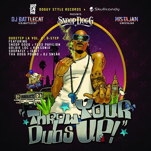 Throw Your Dubs Up - Dubstep LA Vol.2 - Snoop Dogg & Mista Jam | MixtapeMonkey.com