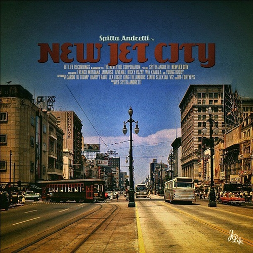 New Jet City - Curren$y | MixtapeMonkey.com