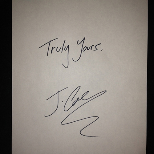 Truly Yours - J. Cole | MixtapeMonkey.com