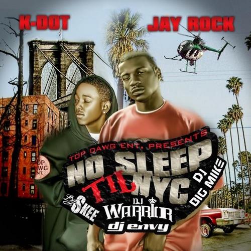 No Sleep Til NYC - Kendrick Lamar & Jay Rock | MixtapeMonkey.com