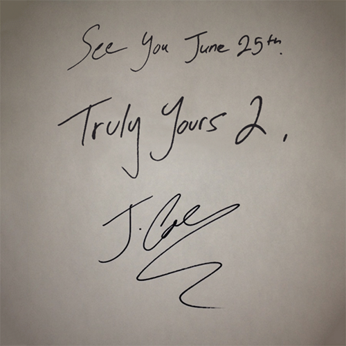 Truly Yours 2 - J. Cole | MixtapeMonkey.com