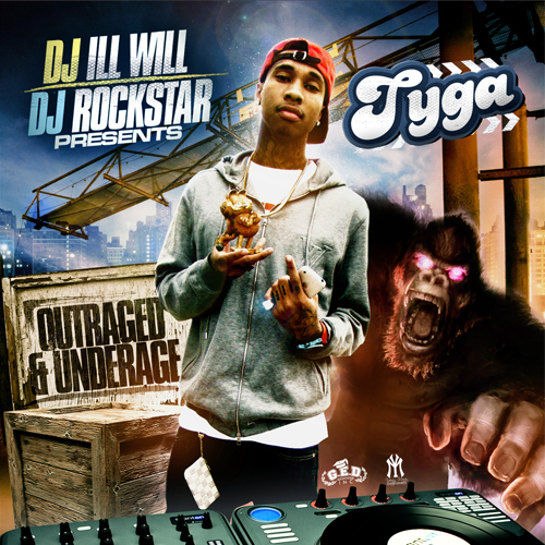 Outraged & Underage - Tyga | MixtapeMonkey.com