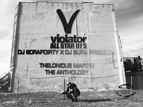 The Anthology - Thelonious Martin | MixtapeMonkey.com