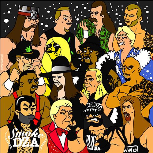 Ringside 2 (EP) - Smoke DZA & 183rd | MixtapeMonkey.com