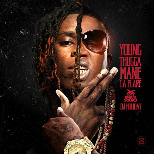 Young Thugga Mane La Flare - Gucci Mane & Young Thug Young   MixtapeMonkey.com